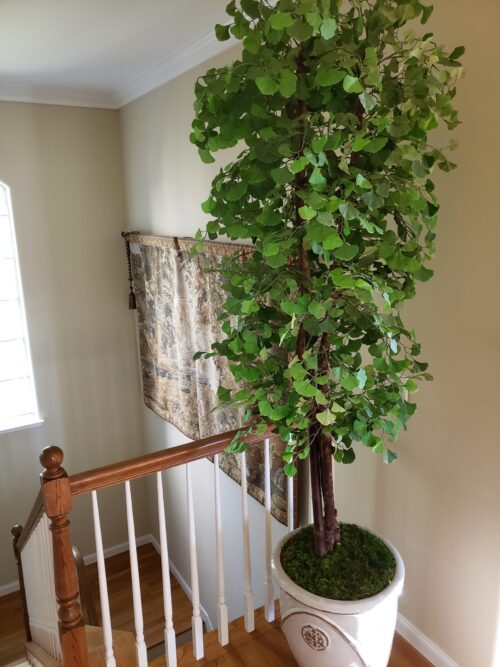 custom artificial Ginkgo Tree for home decor