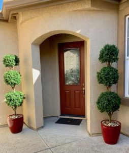 Artificial Outdoor Boxwood Triple Ball Topiaries