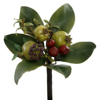 silk Pomegranate Bouquet