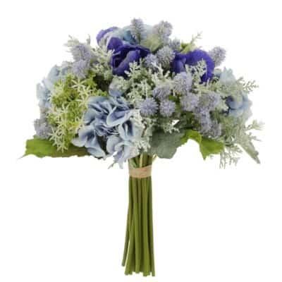 silk Poppy Hydrangea Bouquet