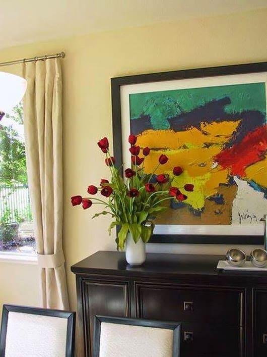 Silk Red Tulips