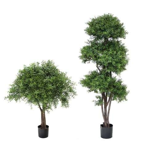 Artificial Tee Leaf Ball Tree
