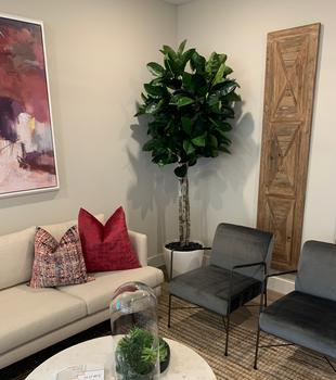 Custom Fiddle Leaf Tree for home decor