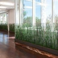 Artificial Greenwall Horsetail Reeds