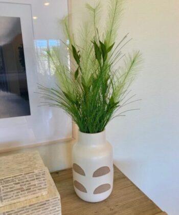 artificial grasses in Accent Decor vase