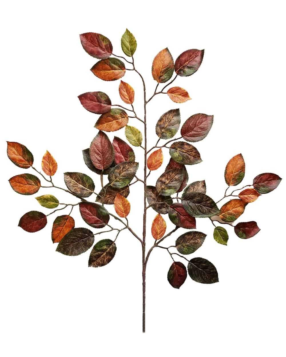 Autumn Apple Leaf Spray